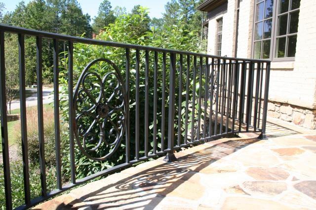 Custom Iron Railings Gates Staircases Raleigh Nc | Wrought Iron Handrails Near Me