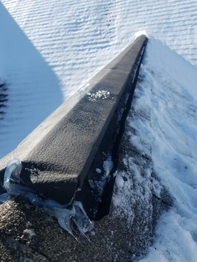 Vent Ridge Installation Country Snow