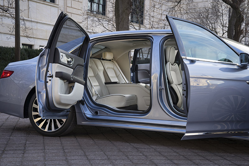 2019 Lincoln Continental 80th Anniversary Edition: Suicide ...