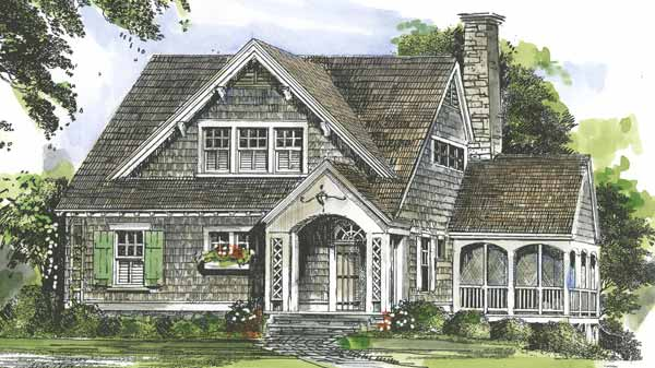 Bungalow House Plans   Southern Living House Plans Sl 946