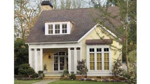 cottage House Plans   Southern Living House Plans SL 286      Cotton Hill Cottage