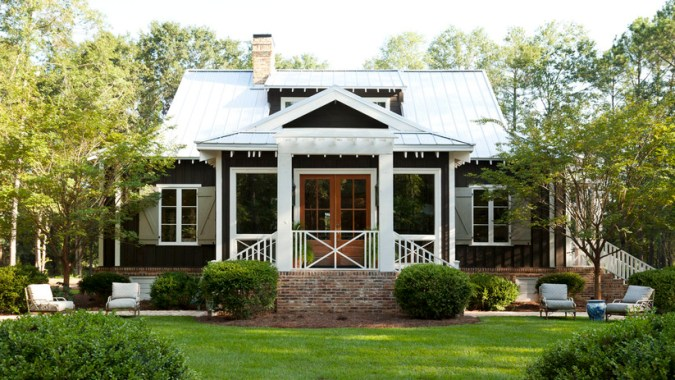 Farmdale Cottage     Southern Living House Plans Plan Details