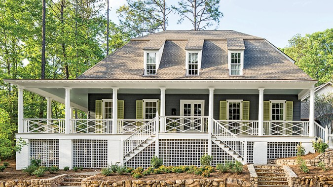 Wrap around Porches House Plans   Southern Living House Plans Sl 1891 fcp