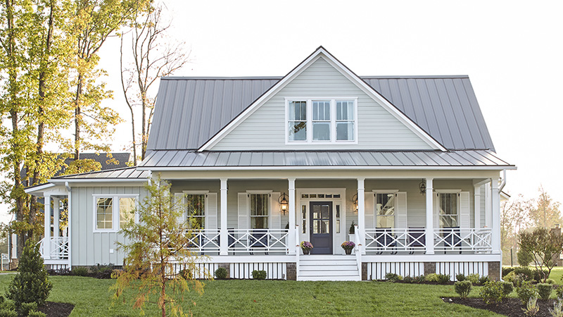 Modern Farmhouse Designs House Plans   Southern Living House Plans Sl 1936 hallsleystreetofhope front