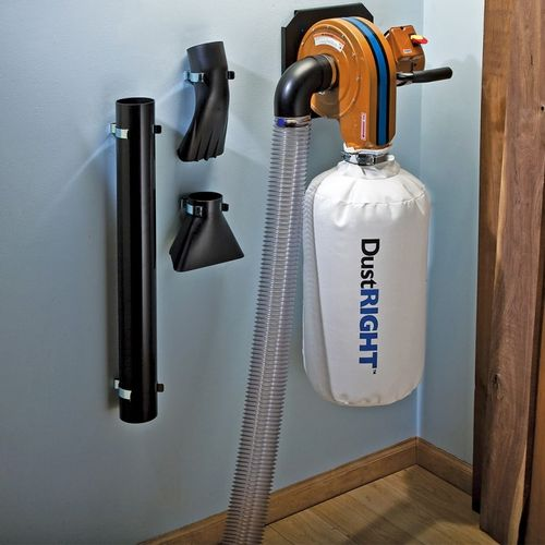 Dust Collector Space Saving Ideas By Micah Muzny