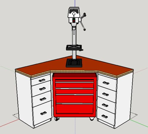 sketchup cyclone dust collector