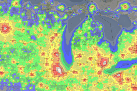 us light pollution map » Full HD Pictures [4K Ultra] | Full Wallpapers