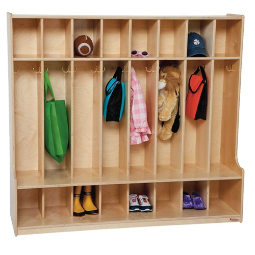 Wood Designs 8 Section Seat Locker - Wd51008 | Early ...