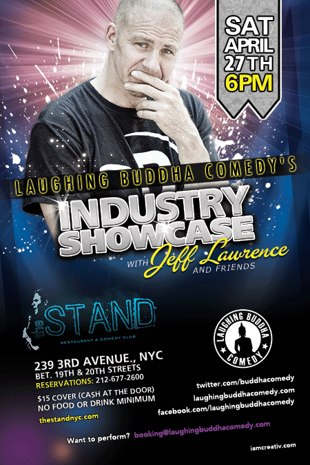 The Stand NYC :: Laughing Buddha Comedy w/ Jeff Lawrence ...