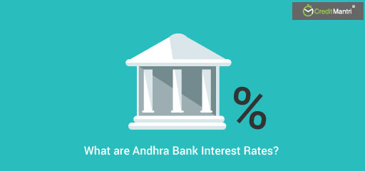 Andhra Bank Personal Loan Interest Rate