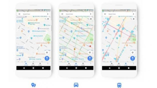Google Maps gets a new User Interface and more Google has redesigned the user interface of the Google Maps app