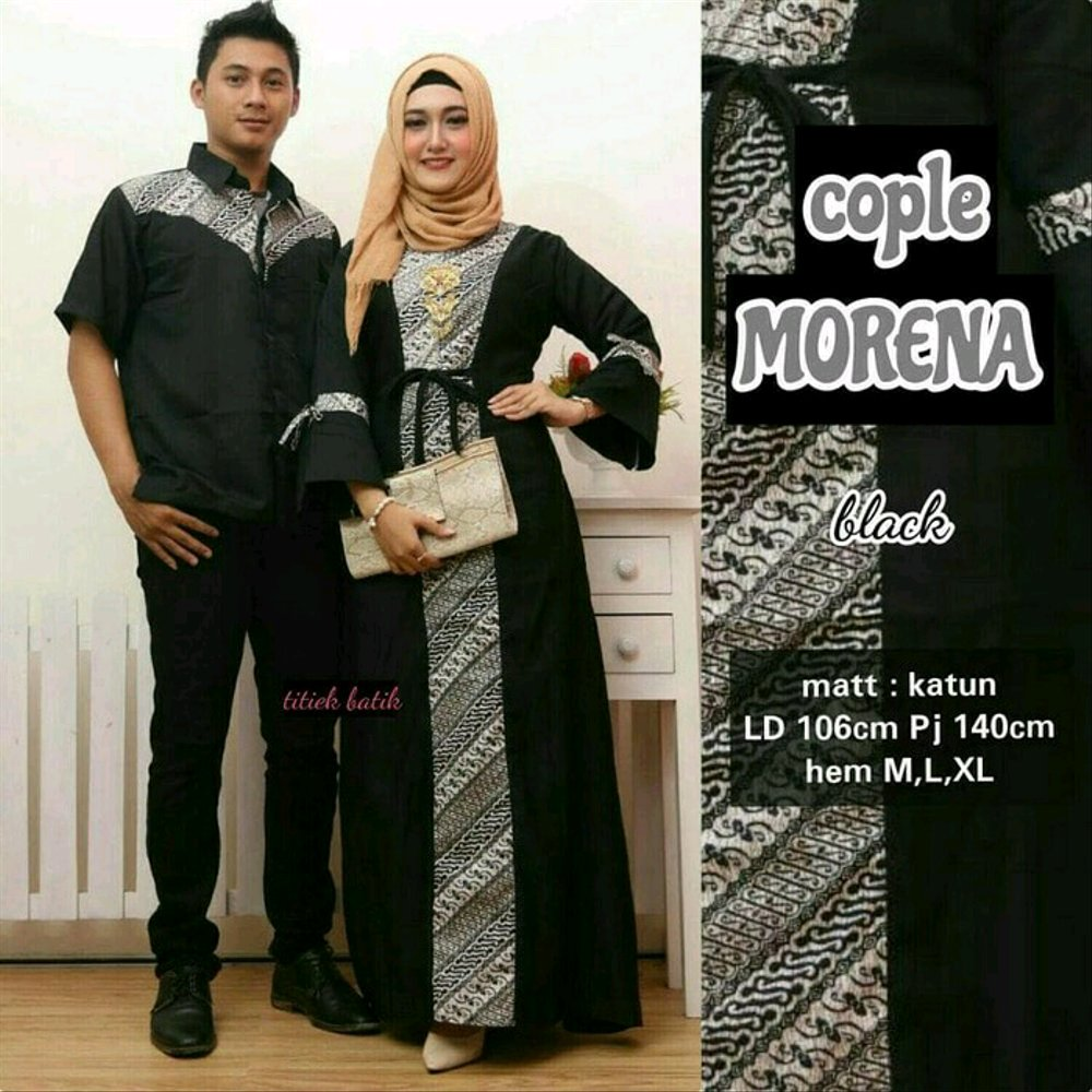 Couple Pesta Kondangan Batik Sarimbit