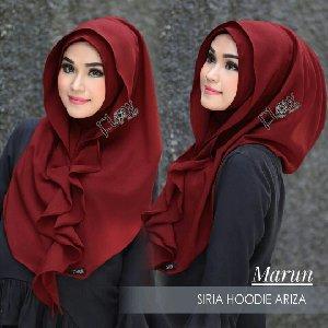 Gambar Untuk Hijab Instan Hoodie Ariza