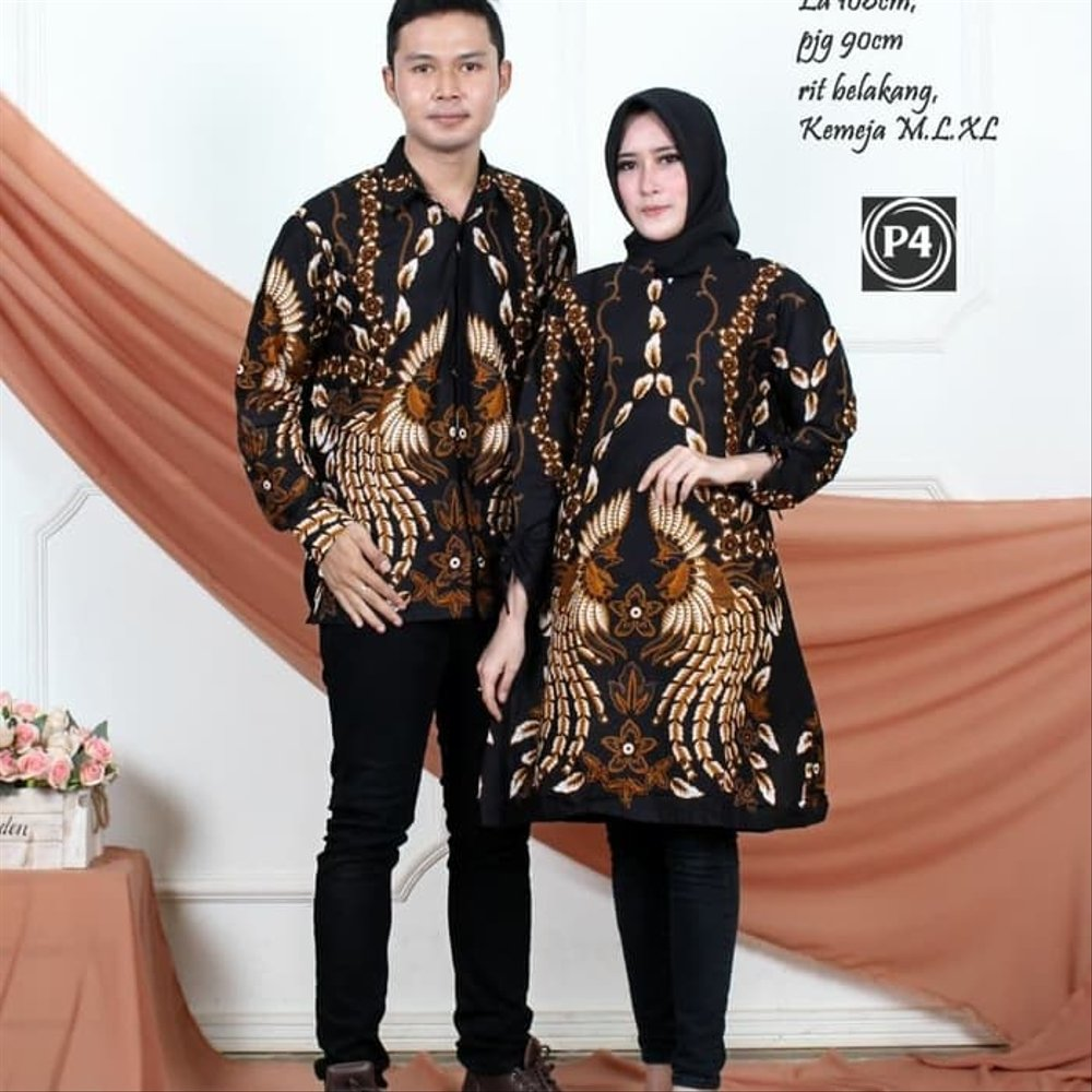 Model Baju Couple Tunik 21