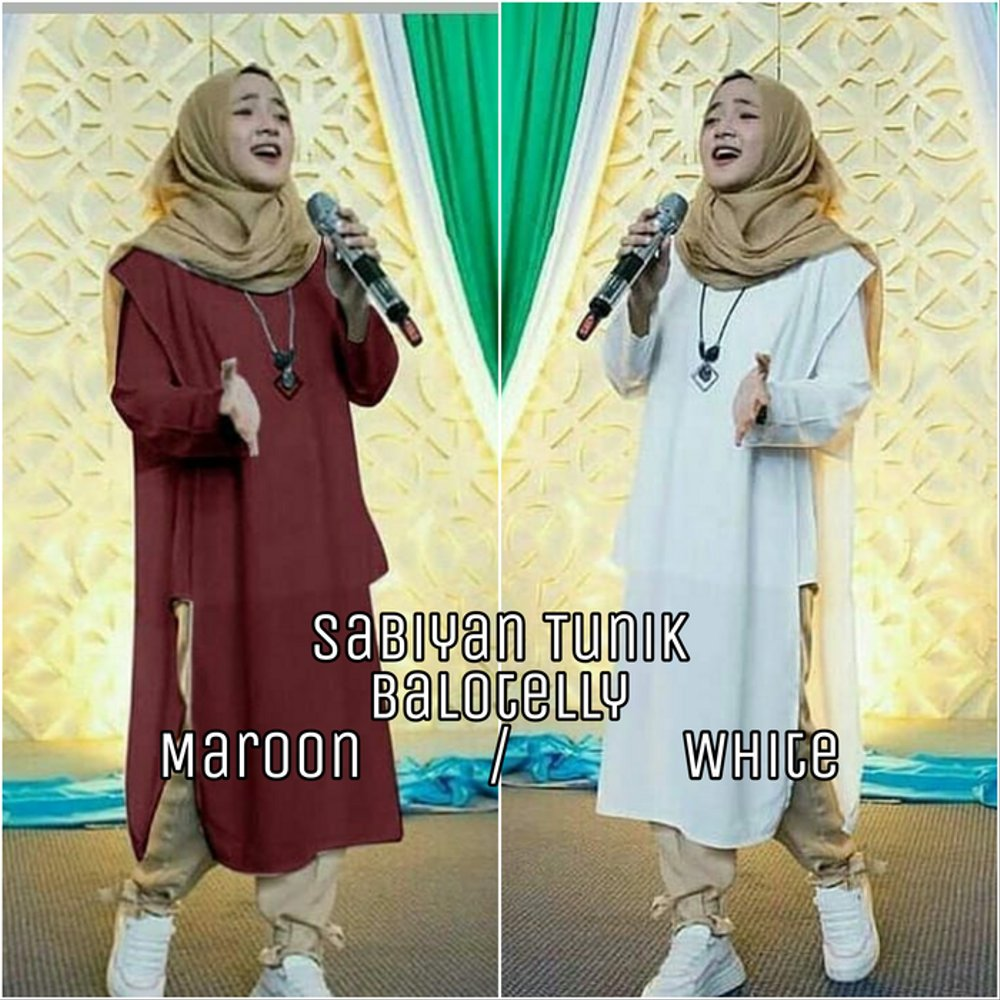 Model Baju Tunik Nissa Sabyan 17