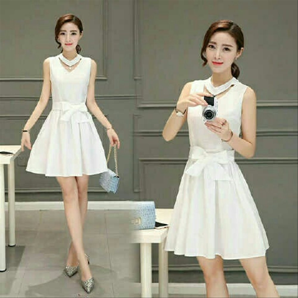 Model Baju Dress Pendek 21