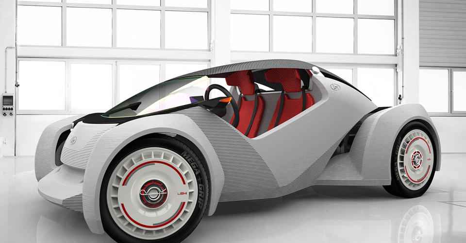 Local Motors Strati Mounts 3d Printed Body Chassis On