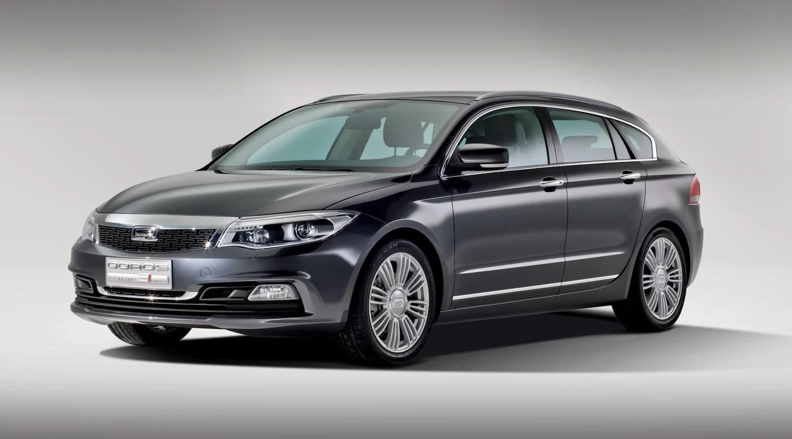 Qoros 3 Sedan Wagon Hybrid Crossover Headed To Geneva