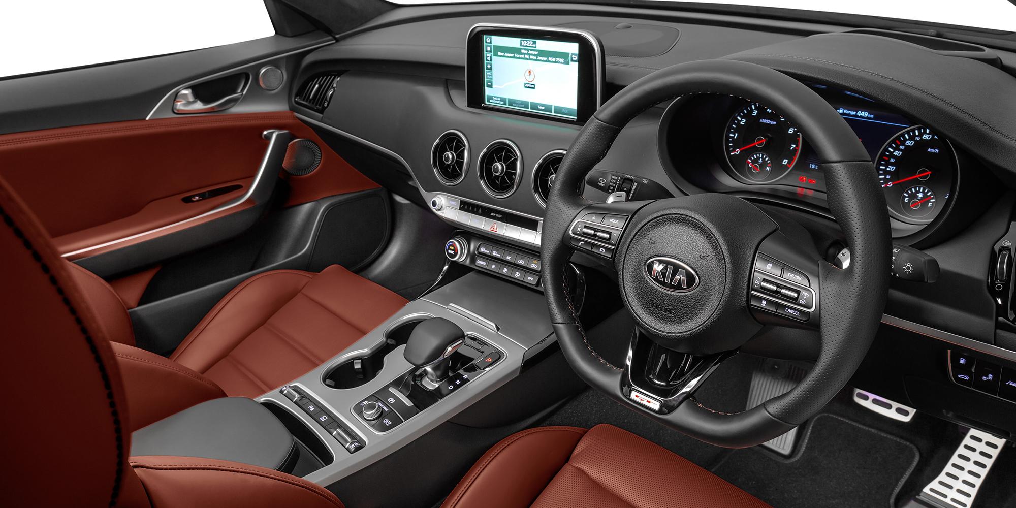 Interior Car Brown