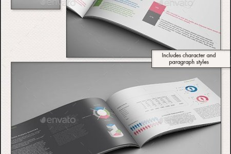 Business Plan Evolved r2   A4 Landscape Template by sthalassinos     Business Plan Evolved r2   A4 Landscape Template   Informational Brochures