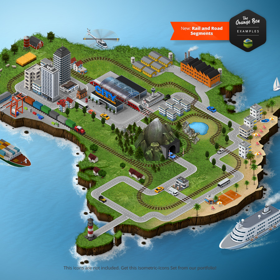 3D Map Generator 2   Isometric by Orange Box   GraphicRiver 3D Map Generator 2   Isometric