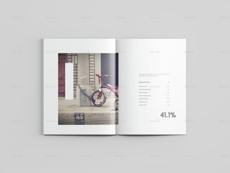 Letter Size Magazine Mockup by graphicpear   GraphicRiver Letter Size Magazine Mockup