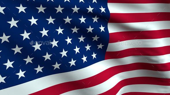 Usa Flag Background By Silentnightlabs Graphicriver