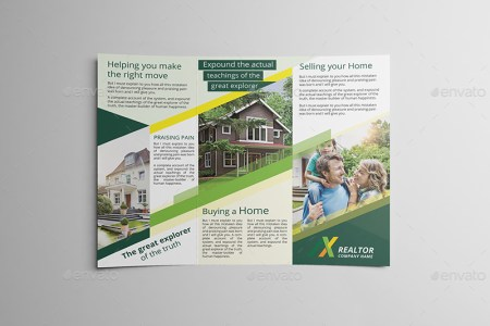 Realtor Tri fold Brochure Template by wutip2   GraphicRiver     03 Realtor Trifold Brochure Template jpg