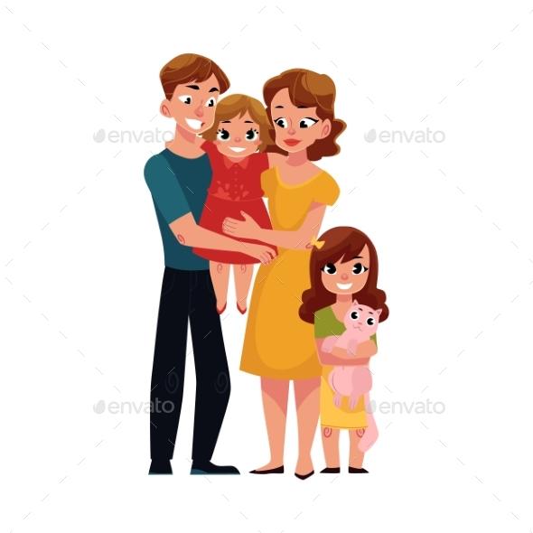 Family by Sabelskaya | GraphicRiver
