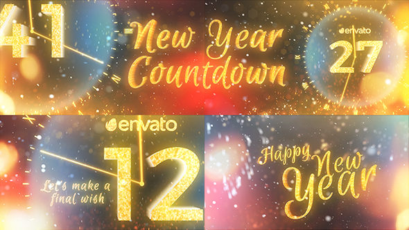 New Year Countdown 2018 by cowardrobertford   VideoHive New Year Countdown 2018