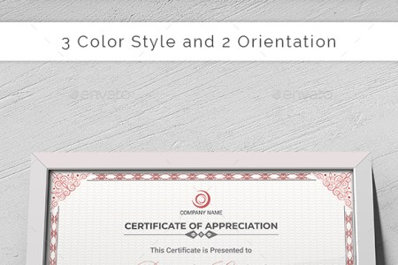 Certificate Templates   Designs from GraphicRiver