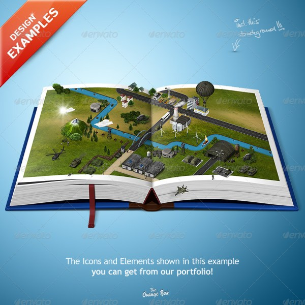Map Books     The stage for your 3D Maps and Icons by Orange Box     Map Books     The stage for your 3D Maps and Icons