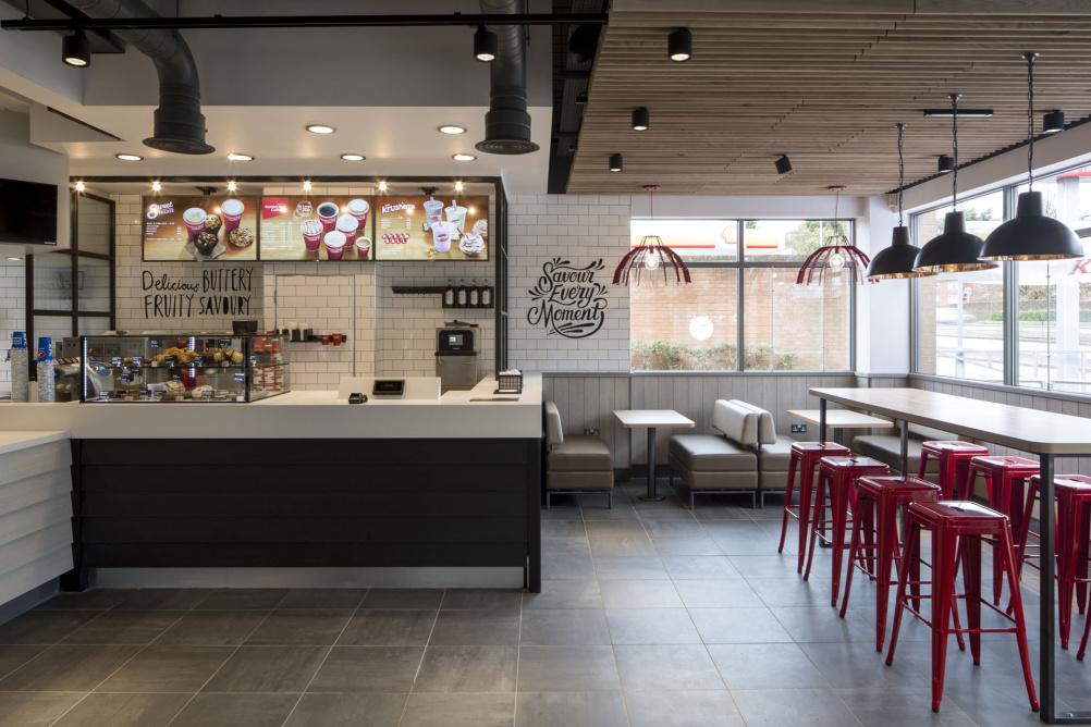 Kfc Restaurant Interior Design