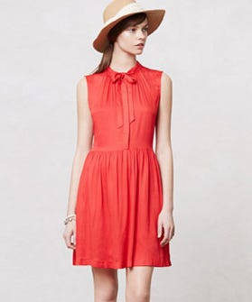Red Dresses     Cute Bold Dress Styles For Summer In a season where hemlines are unabashedly high and tank tops are routinely  sheer  it s hard to stand out in a sea of bare skin     especially if a crop  top