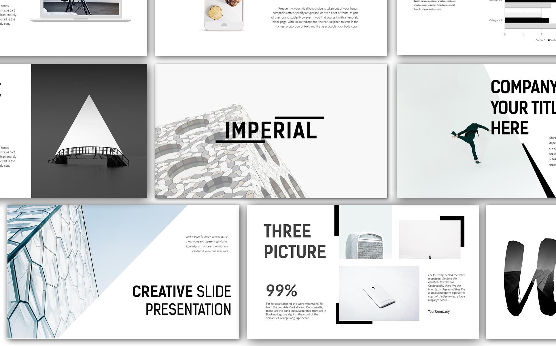 Imperial Modern Keynote Template 66187