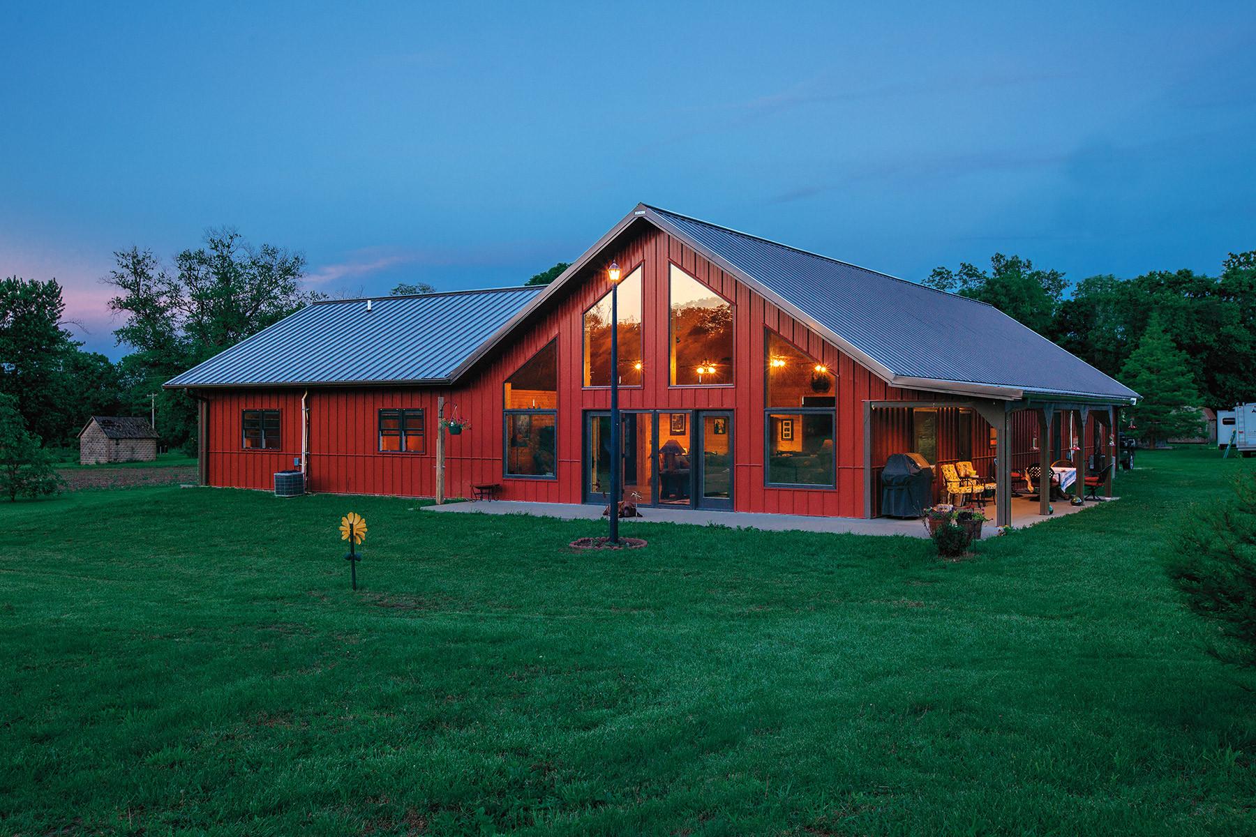 Metal Barn House Floor Plans