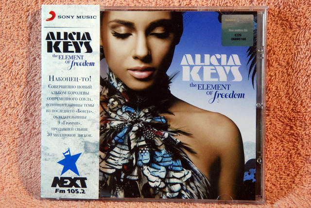 Element Freedom Alicia Keys Cd