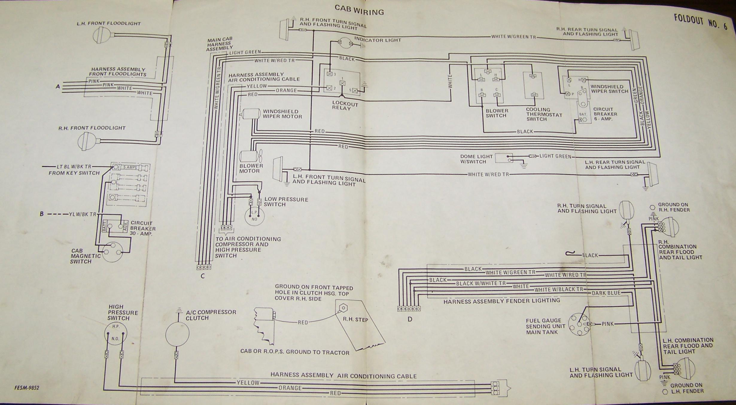 Farmall 706 sel Wiring Diagram | Wiring Diagram on