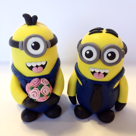 Minion Wedding Cake Topper   Choose Your Colors  2243646   Weddbook Minion Wedding Cake Topper   Choose Your Colors