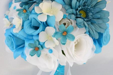 Teal blue silk flowers new top artists 2018 top artists 2018 silk dahlia artificial dahlia shop silk flowers at afloral com dahlia silk flower spray in teal blue in tall hydrangea silk flower arrangement hydrangea in mightylinksfo