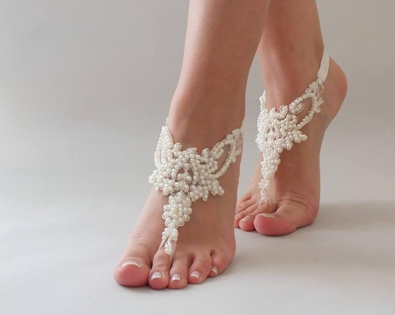 Bridesmaid Ivory Shoes