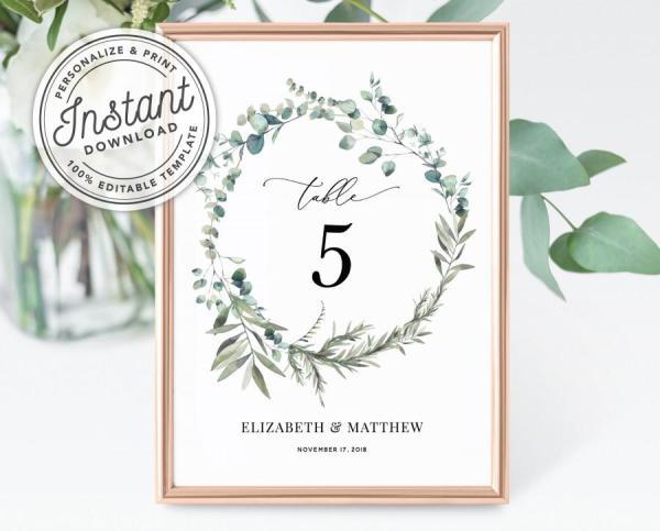 wreath template printable # 35