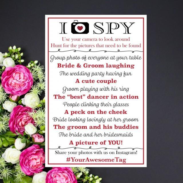 Wedding Table Quiz Ideas