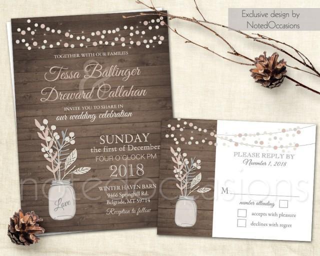 Blush Bridal Shower Invitations