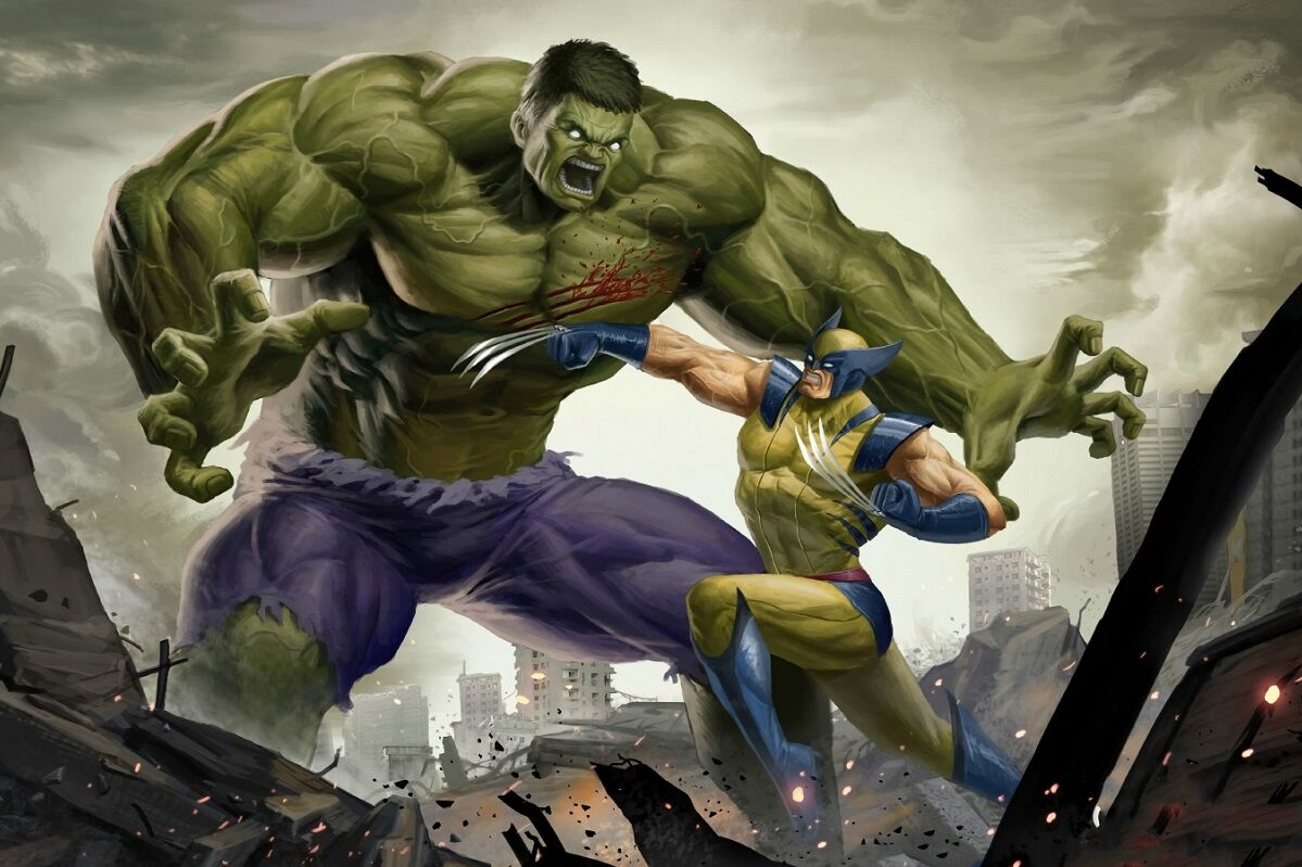 hulked out wolverine - HD1199×799