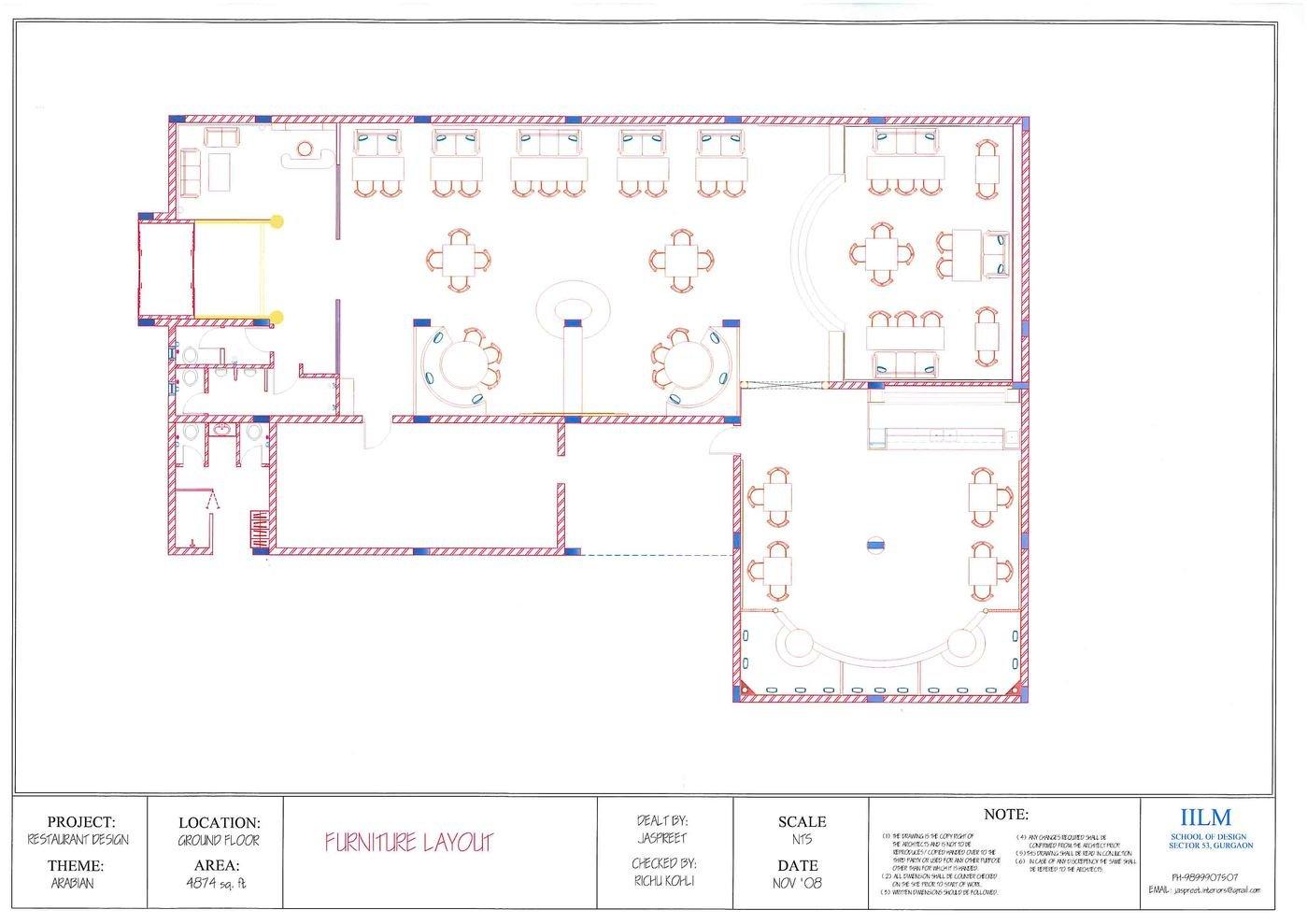 Large Kitchen Layout Plans