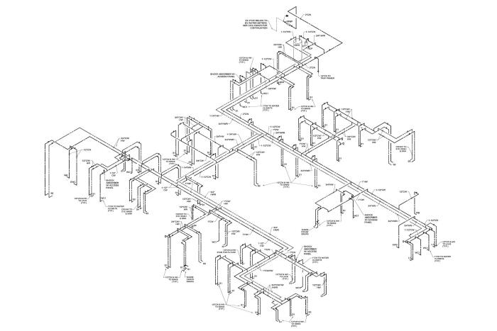 Residential Gas Riser Diagram Example