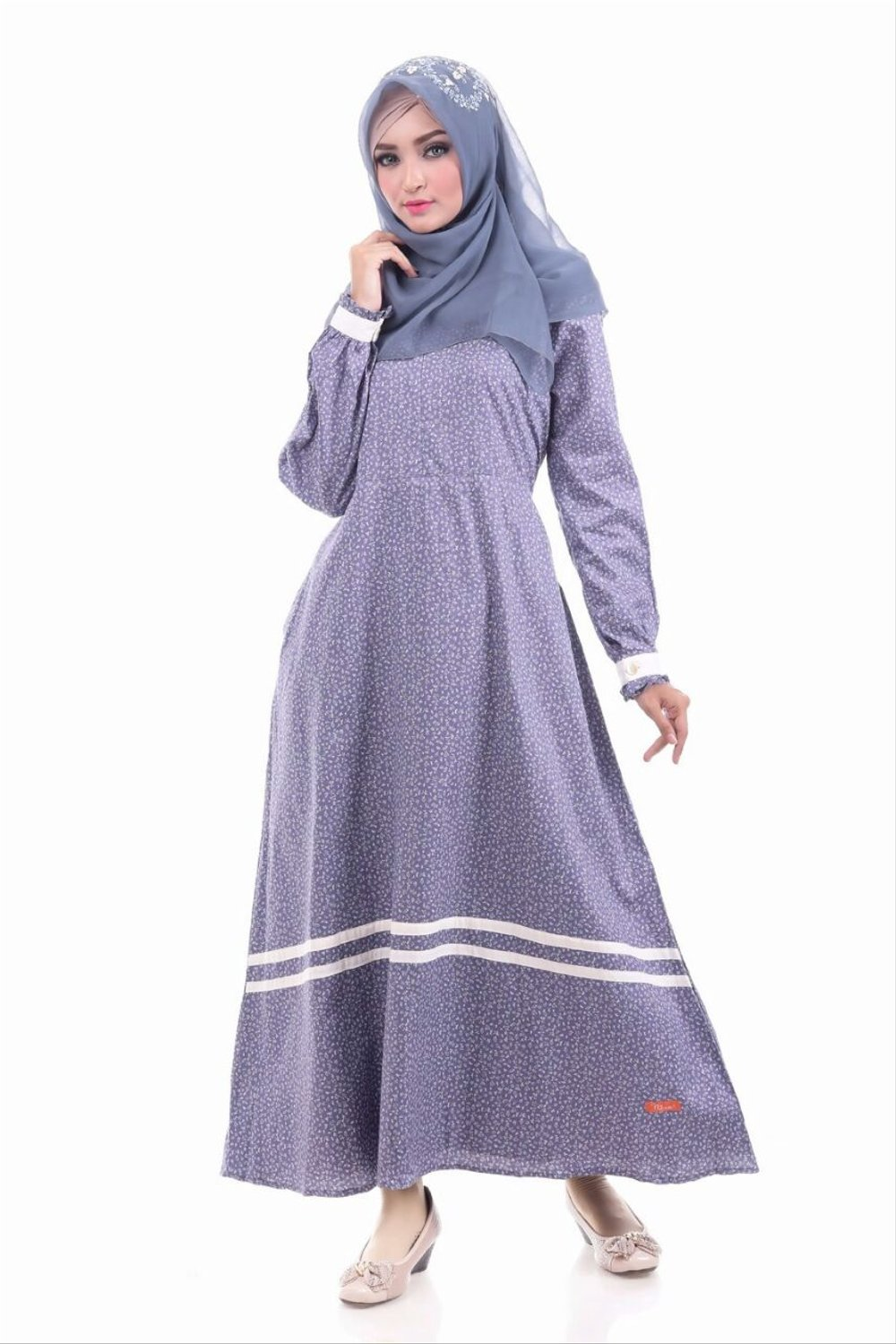 Image Result For Model Gamis Remaja Bunga