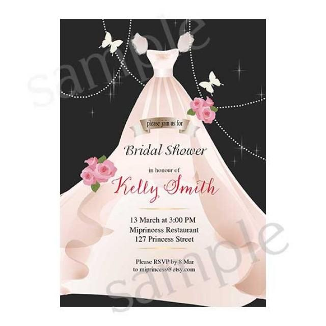 Bridal Shower Invitations Two Brides