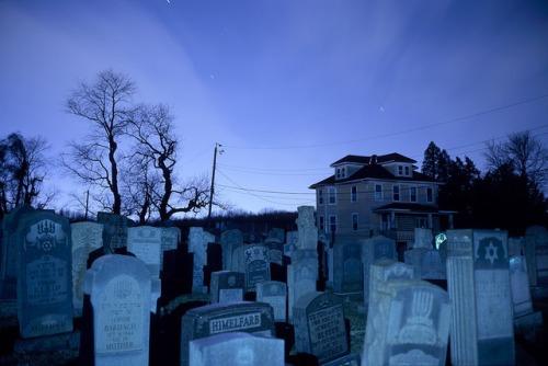 aesthetic cemetery background